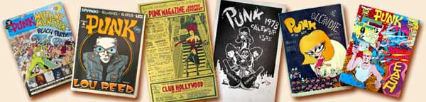 Punk Magazine items